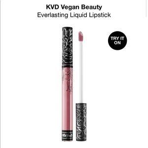 NIB New KVD Everlasting Liquid Lipstick Soft Lilac